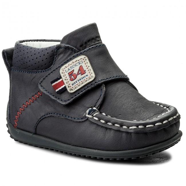 Boots LASOCKI KIDS - CI12-MOCCA-37 Granatowy 1