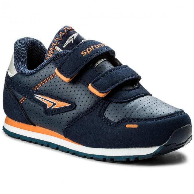 Sneakers SPRANDI - CP23-5602 Granatowy/Pomarańczowy