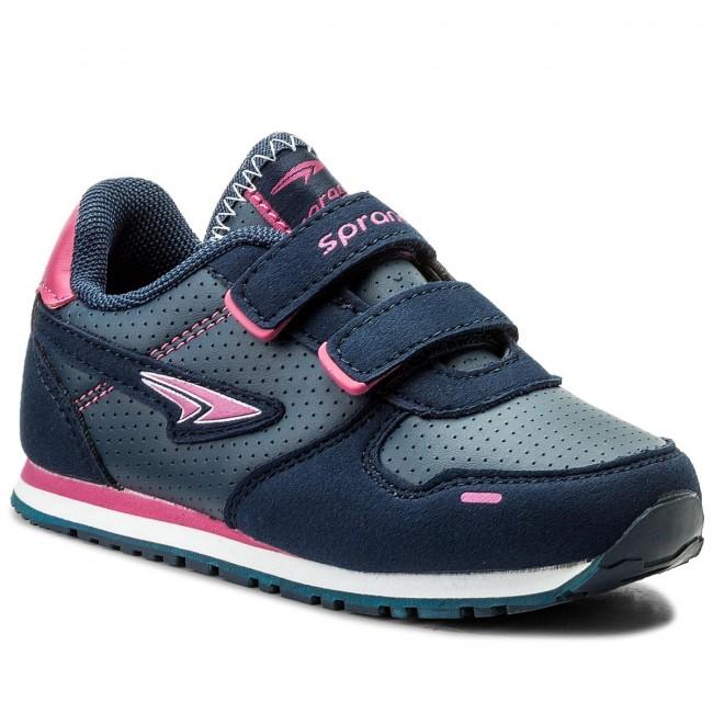 Sneakers SPRANDI - CP23-5602 Granatowy Różowy Ciemny