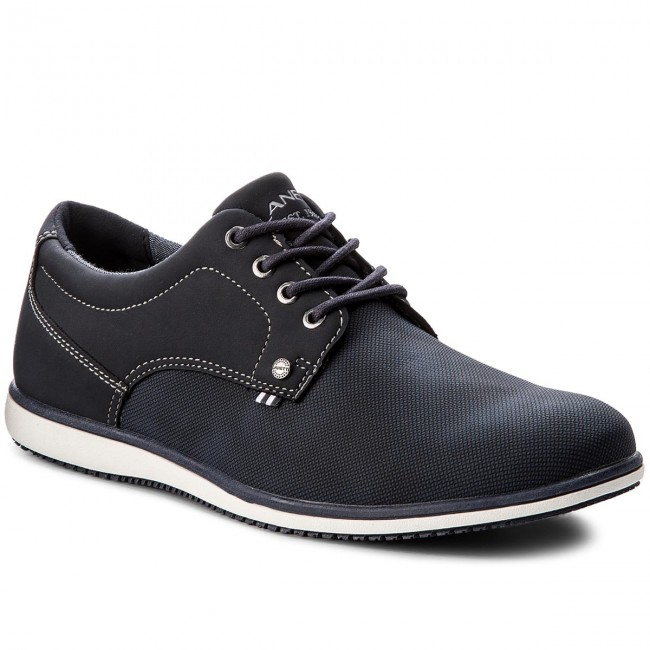 Shoes LANETTI - MP07-17047-01 Navy Blue