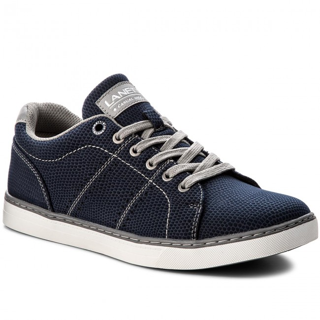 Sneakers LANETTI - MP07-17073-04 Navy Blue