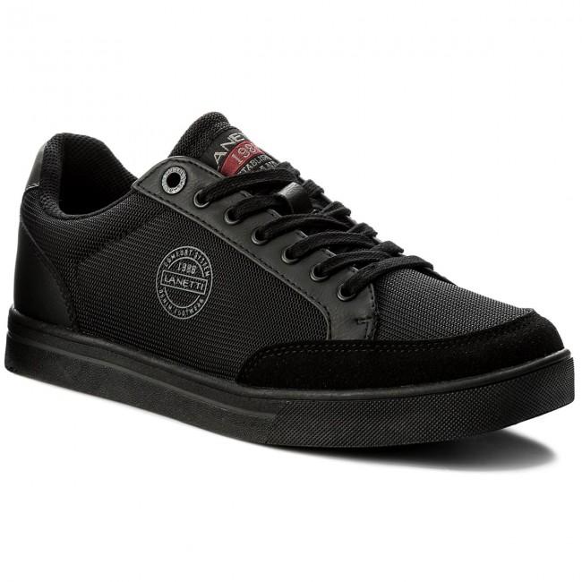 Sneakers GINO LANETTI - MP07-17085-02 Black