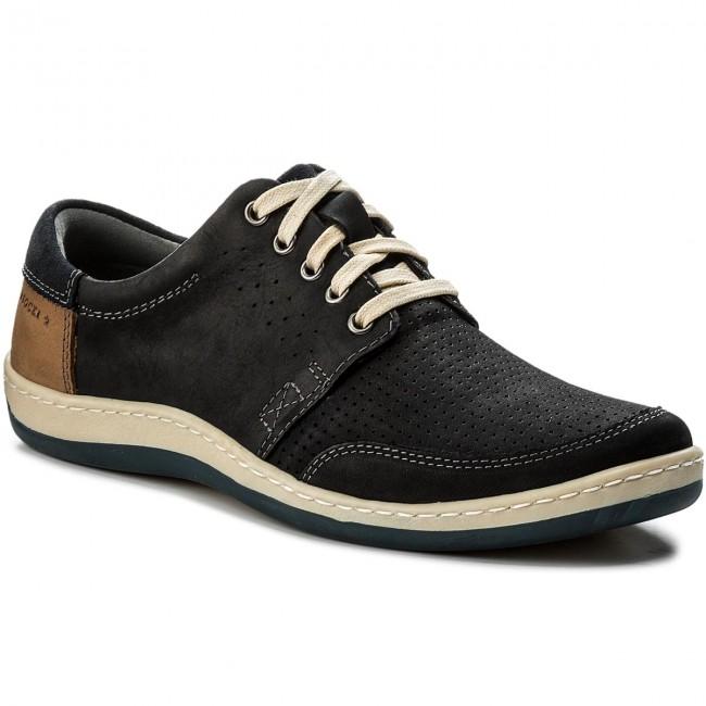 Shoes LASOCKI FOR MEN - MI20-QUENTIN-01 Granatowy 1