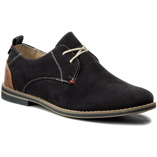 Shoes LANETTI - M17SS086-2 Navy Blue