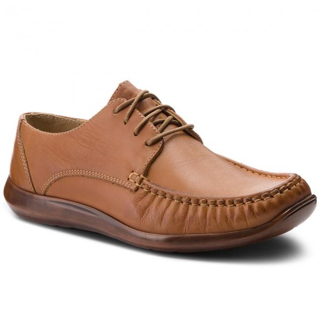 Shoes LASOCKI FOR MEN - MI20-RENE-4 Camel