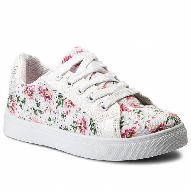 Shoes NELLI BLU - CS17057-1  Colourful White