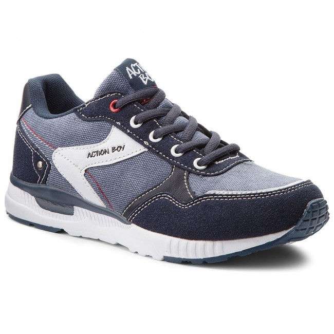 Sneakers ACTION BOY - BP40-7439 Navy Blue