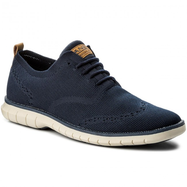 Shoes LANETTI MP07 16707 05 Navy Blue