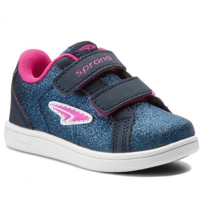 Sneakers SPRANDI - CP23-5767(II)DZ Granatowy/Różowy Ciemny