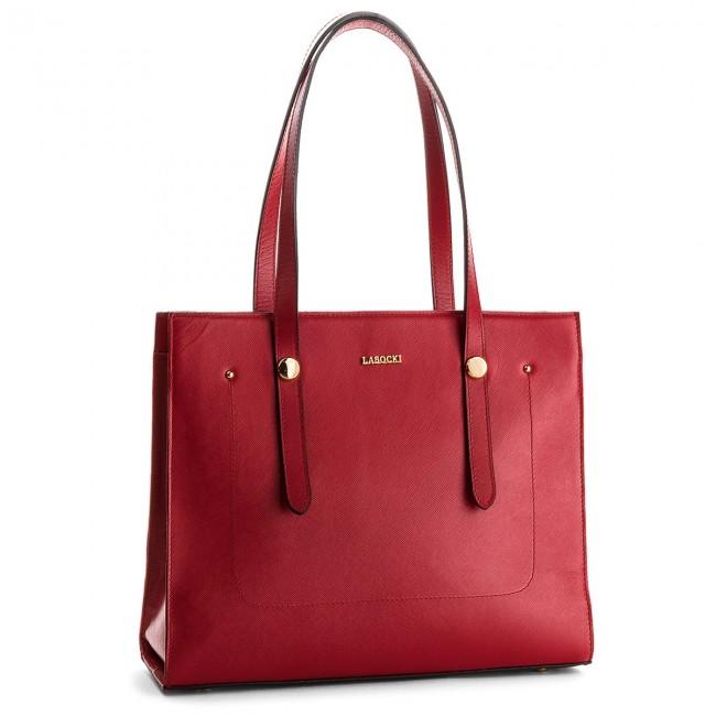 Handbag LASOCKI - BRT-013 Red
