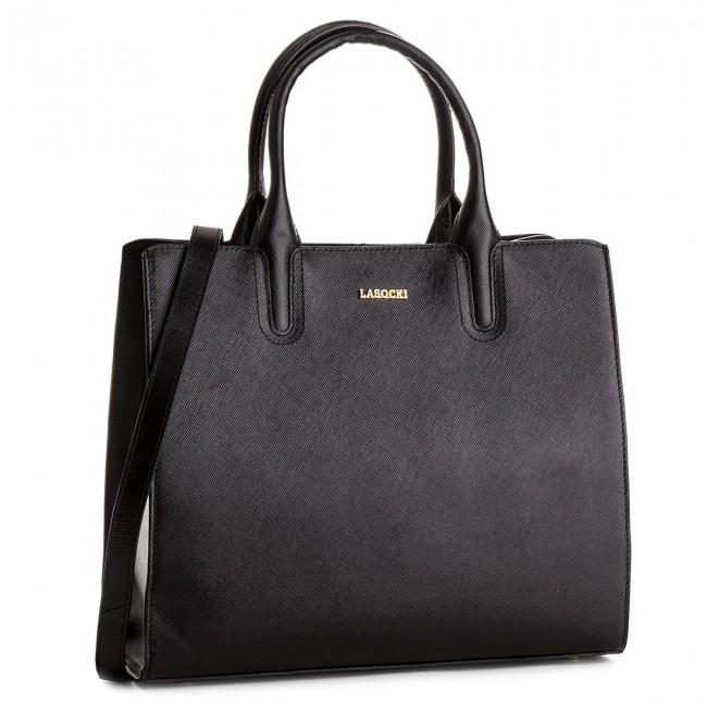 Handbag LASOCKI - BRT-012A Black