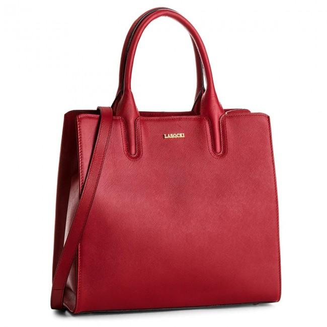 Handbag LASOCKI - BRT-012A Red
