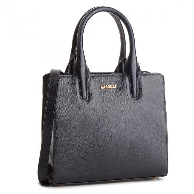 Handbag LASOCKI - BRT-020A Navy Blue
