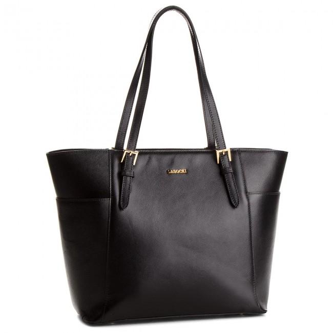 Handbag LASOCKI - BRT-027 Black