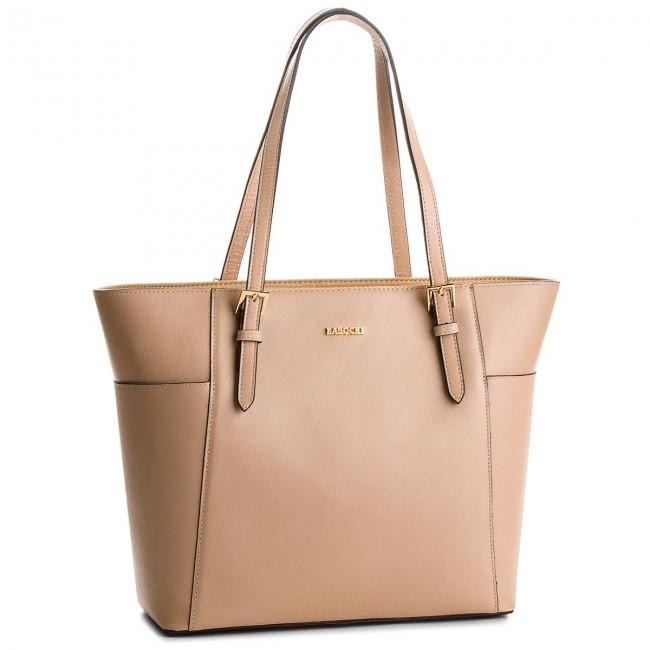 Handbag LASOCKI - BRT-027 Beige