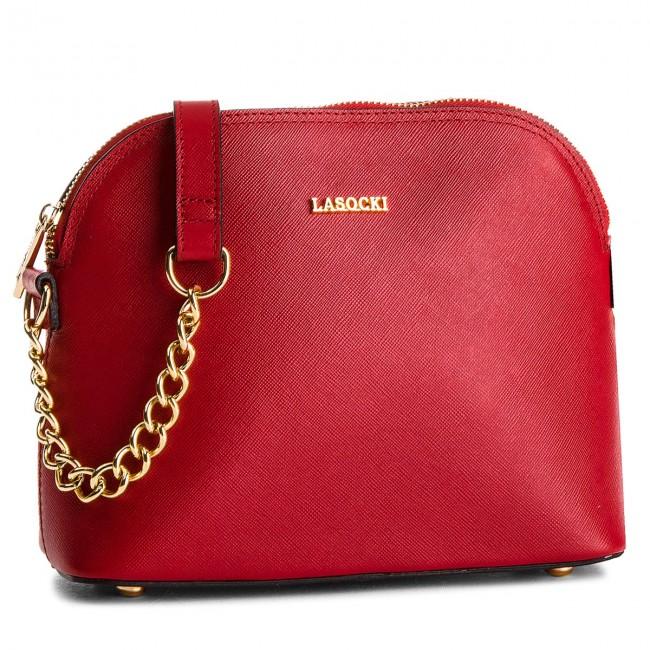 Handbag LASOCKI - BRT-031 Czerwony 1