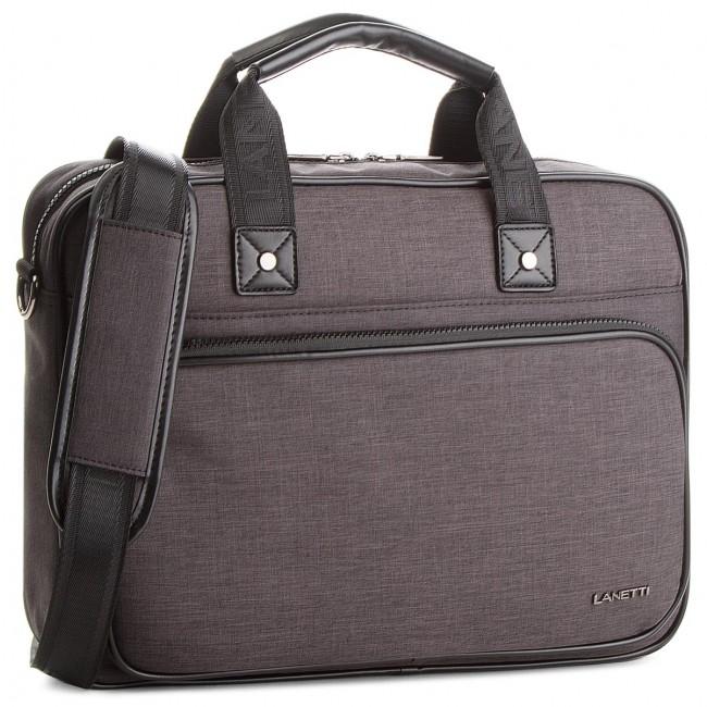 Laptop Bag LANETTI - RM0363  Black