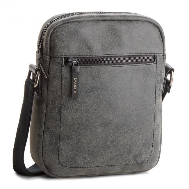 Messenger Bag LANETTI - RM0774  Czarny