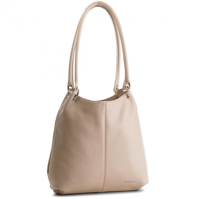 Handbag LASOCKI - VS2790  Beige