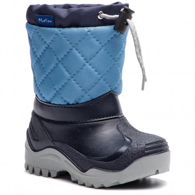 Snow Boots MUFLON - 22-477CH Navy Blue