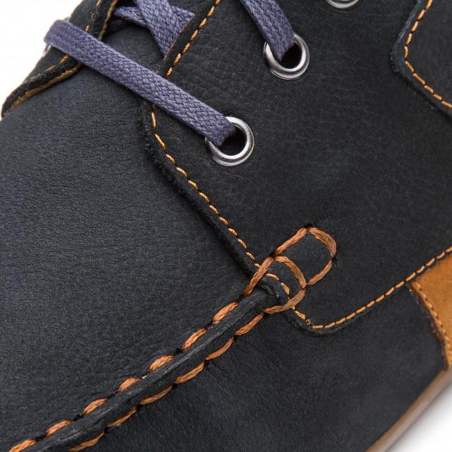 Shoes LASOCKI FOR MEN - MB-JURA2-01 Cobalt Blue - Casual - Low shoes - Men's shoes