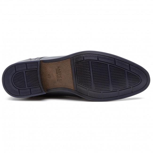 Shoes LASOCKI FOR MEN - MB-ELAN-20 Cobalt Blue - Formal shoes - Low shoes - Men's shoes