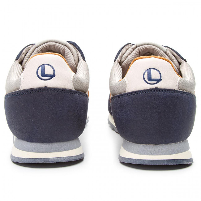 Sneakers LANETTI - MP07-181087-03 Navy/Grey - Sneakers - Low shoes - Men's shoes