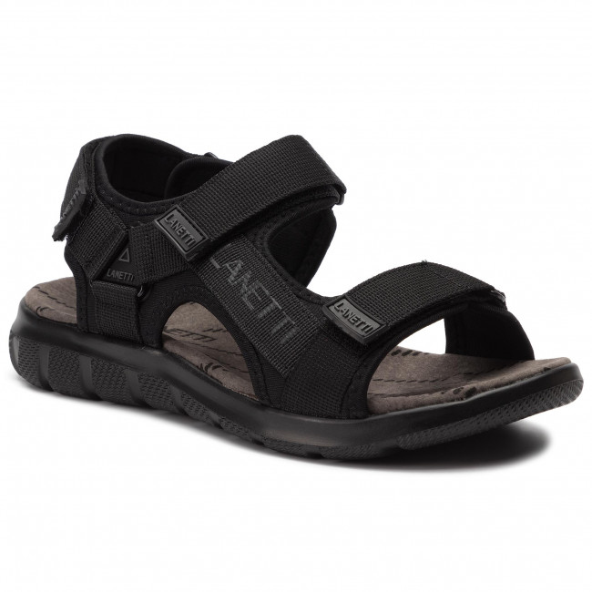 Sandals LANETTI - MS19475-16 Black