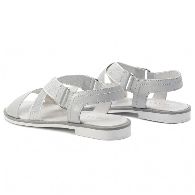 Sandals Lasocki - Wi23-foxi-11 Silver Casual Mules And Women's Shoes