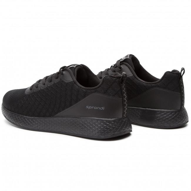Sneakers SPRANDI - MP07-181103-03 Black - Sneakers - Low shoes - Men's shoes