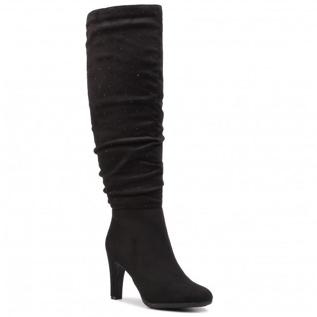 Knee High Boots JENNY FAIRY - LS4258-14 Black