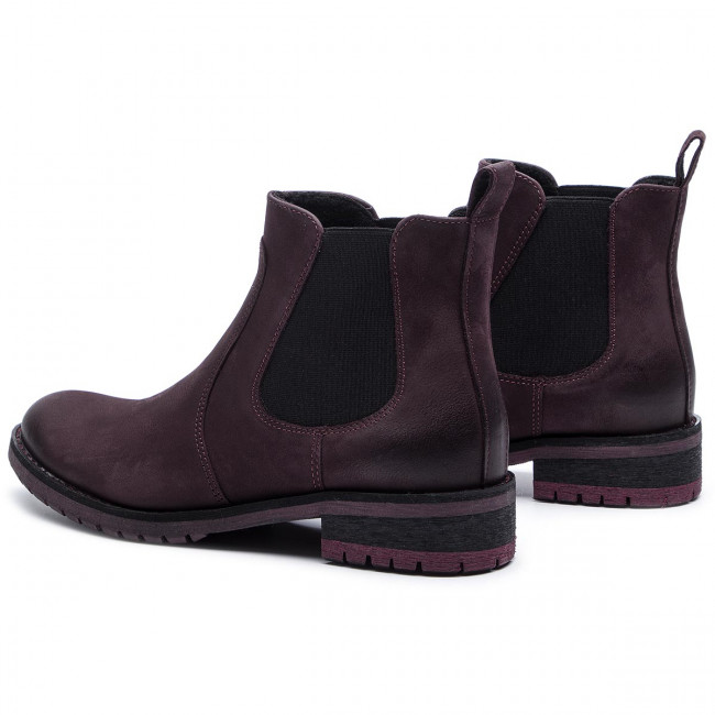 Ankle Boots GINO ROSSI 802A 01 Burgundy