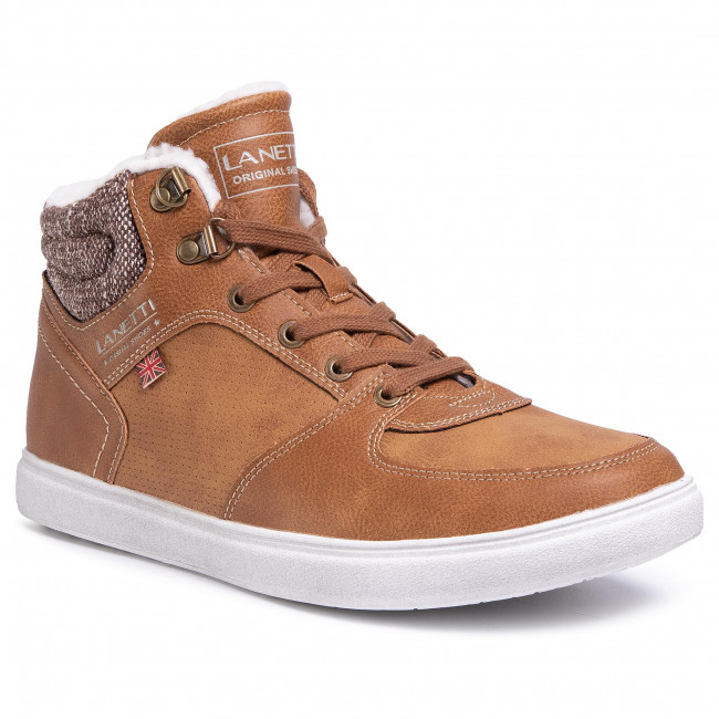 Boots LANETTI - MP07-6609-10 Camel