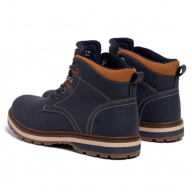 Hiking Boots LANETTI MP07 17197 03 Cobalt Blue