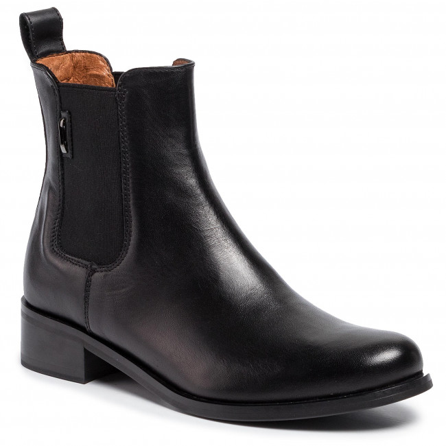Ankle Boots Gino Rossi 8484 05 Black Elastic Sides High Boots And Others Women S Shoes Efootwear Eu