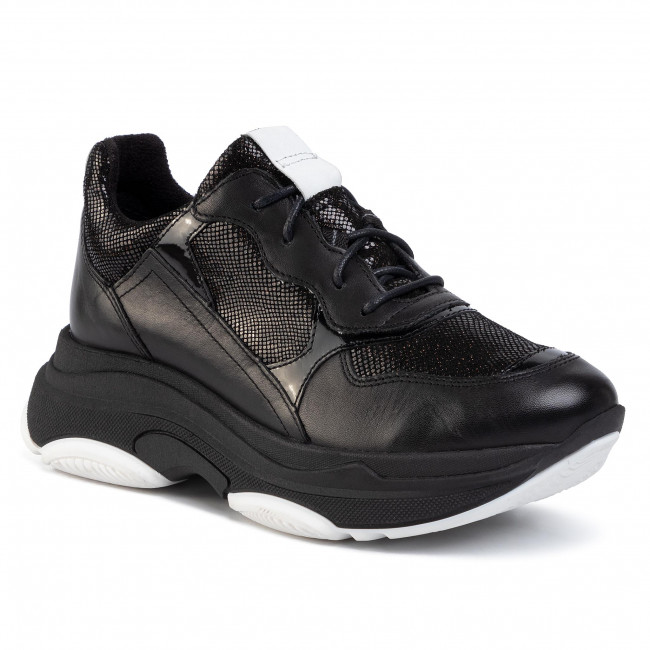 Sneakers Gino Rossi Rst Bale 02 Black Sneakers Low Shoes Women S Shoes Efootwear Eu