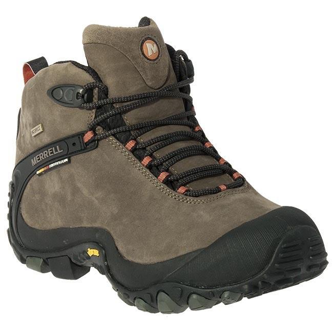 Shoes Merrell Chameleon Lthr Wrap W P Mid J86859 Brown Trekker Boots Low Shoes Men S Shoes Efootwear Eu