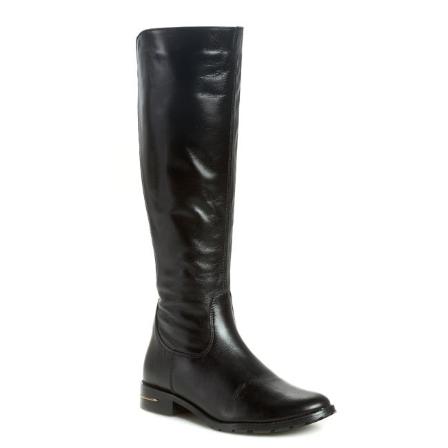 Knee High Boots R.POLAŃSKI - 0696 Black