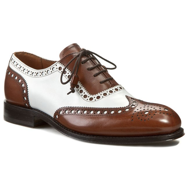 Formal Shoes NORD - Meka 4599VVS8S White Brown