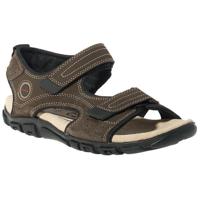 Sandals GEOX - U1124M 01550 C6009 Brown