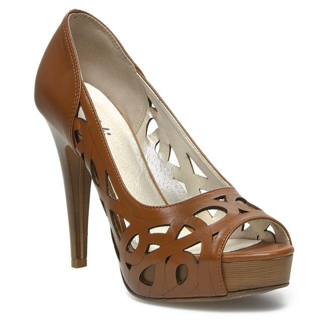 Stilettos R.POLAŃSKI - 0593 Brown