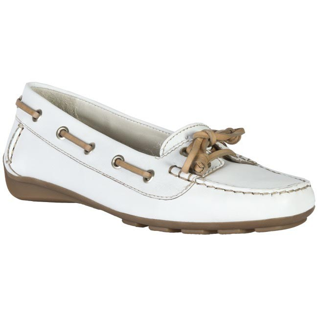 Moccasins GEOX - D1142F 00043 C1000 White