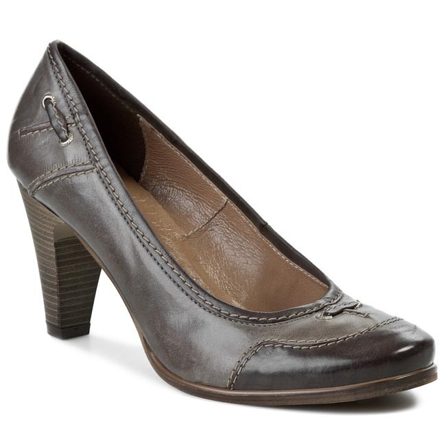 Shoes LAURA MESSI - 461 019-212 Brown Grey