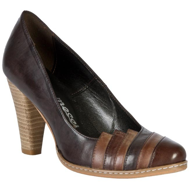 Shoes LAURA MESSI - 420/1 019-017-08 Brown