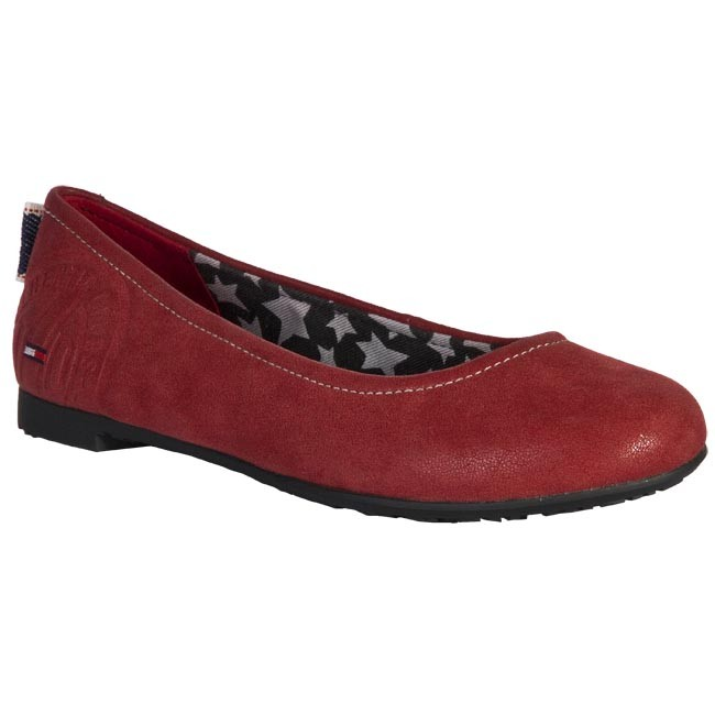Flats TOMMY HILFIGER - FW56812721 608 Red