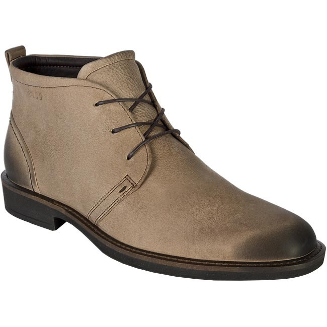 Boots ECCO - 630014 02704 Brown Grey