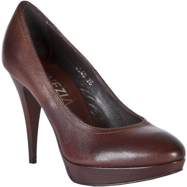 Shoes VENEZIA - 2548 Crust Tuffato Brown