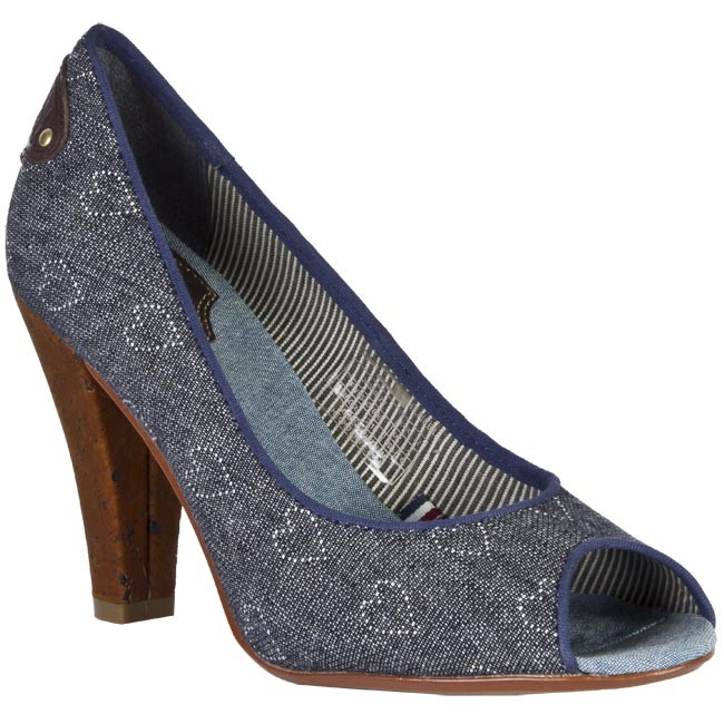 Shoes TOMMY HILFIGER - FW5SA01808 647 Blue