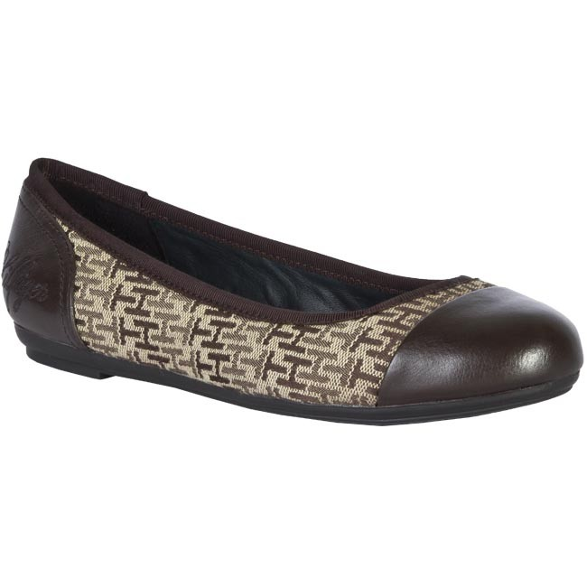 Flats TOMMY HILFIGER - FW86812850 210 Brown