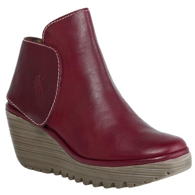 Boots FLY LONDON - Yogi Red Red